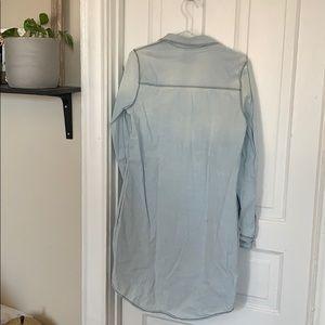 Melrose and Market Dresses - Melrose and market denim shirt dress
